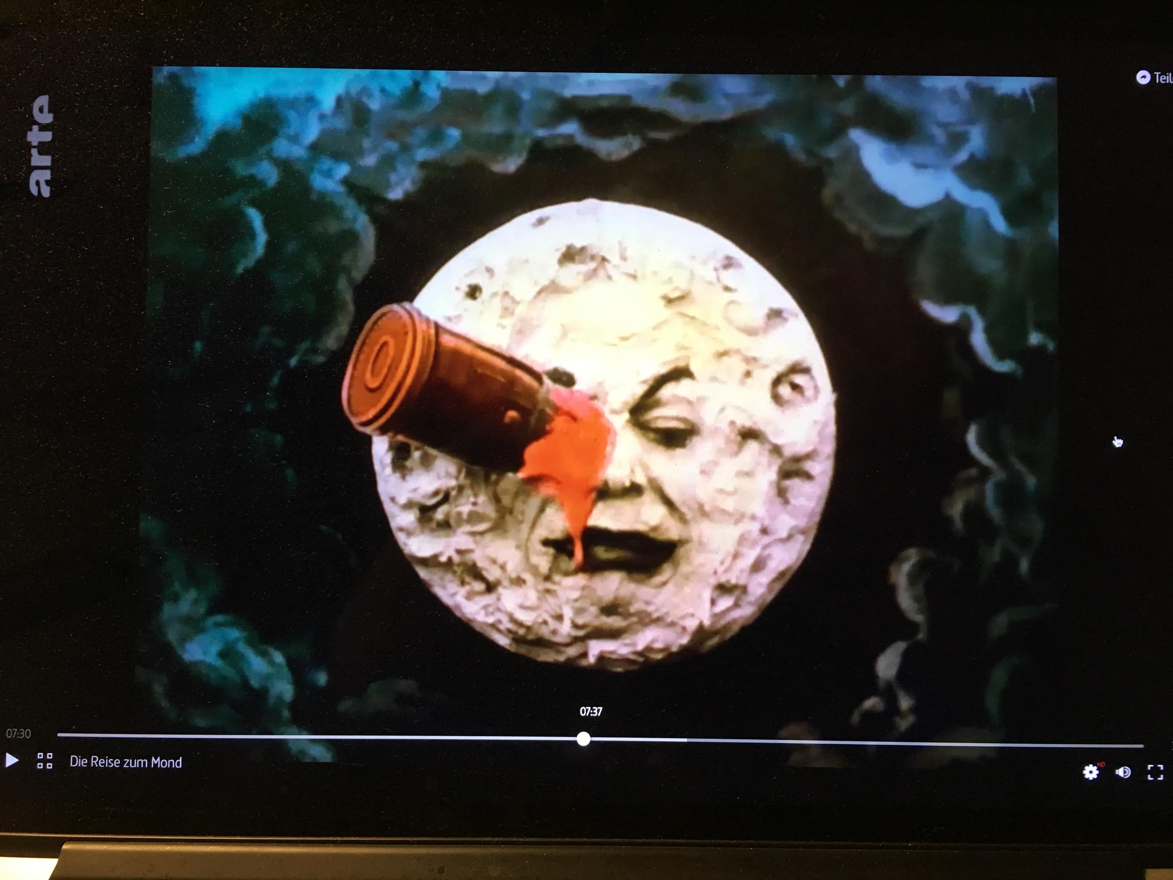 Die Reise zum Mond
