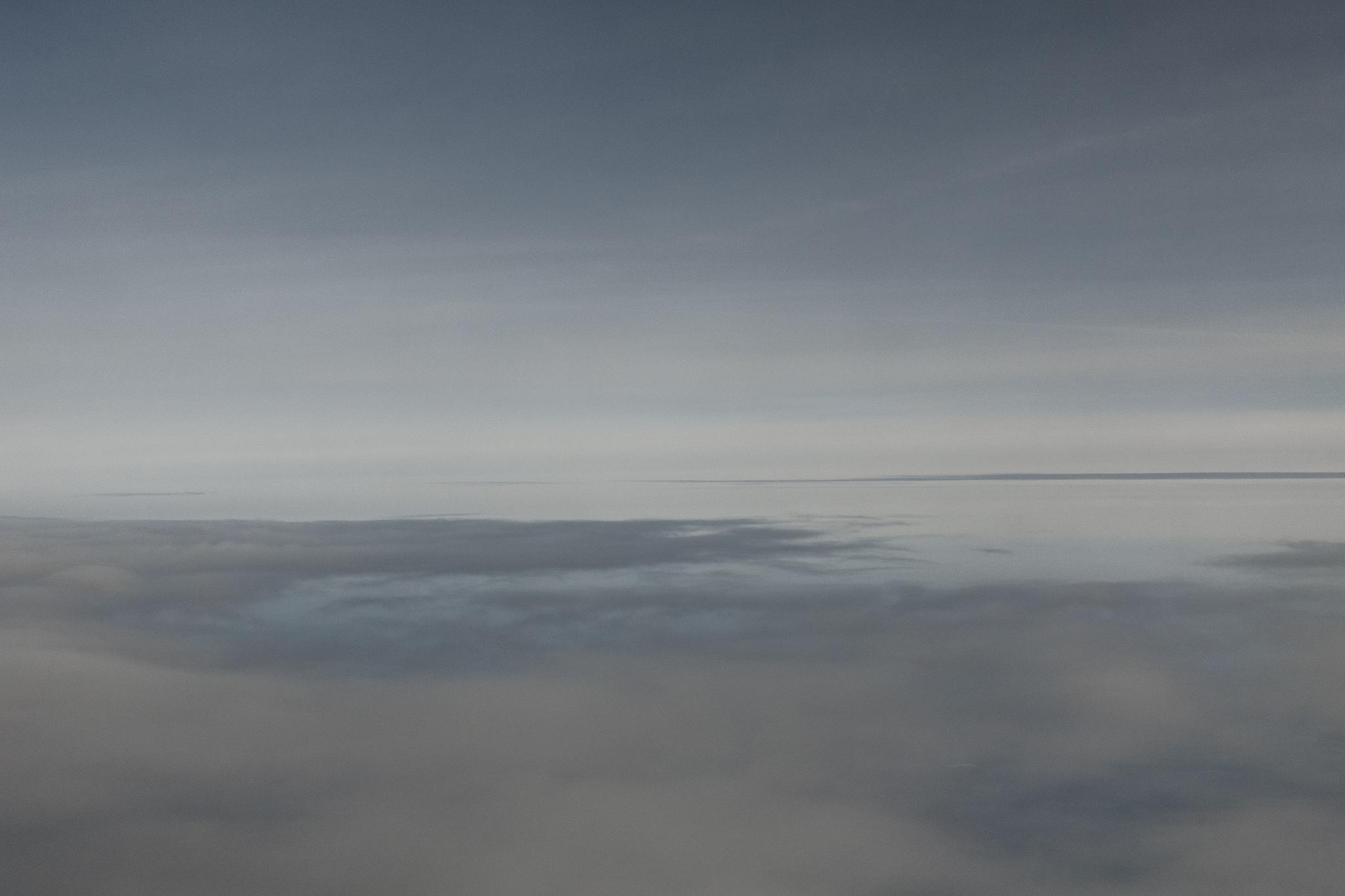 Wolken im März