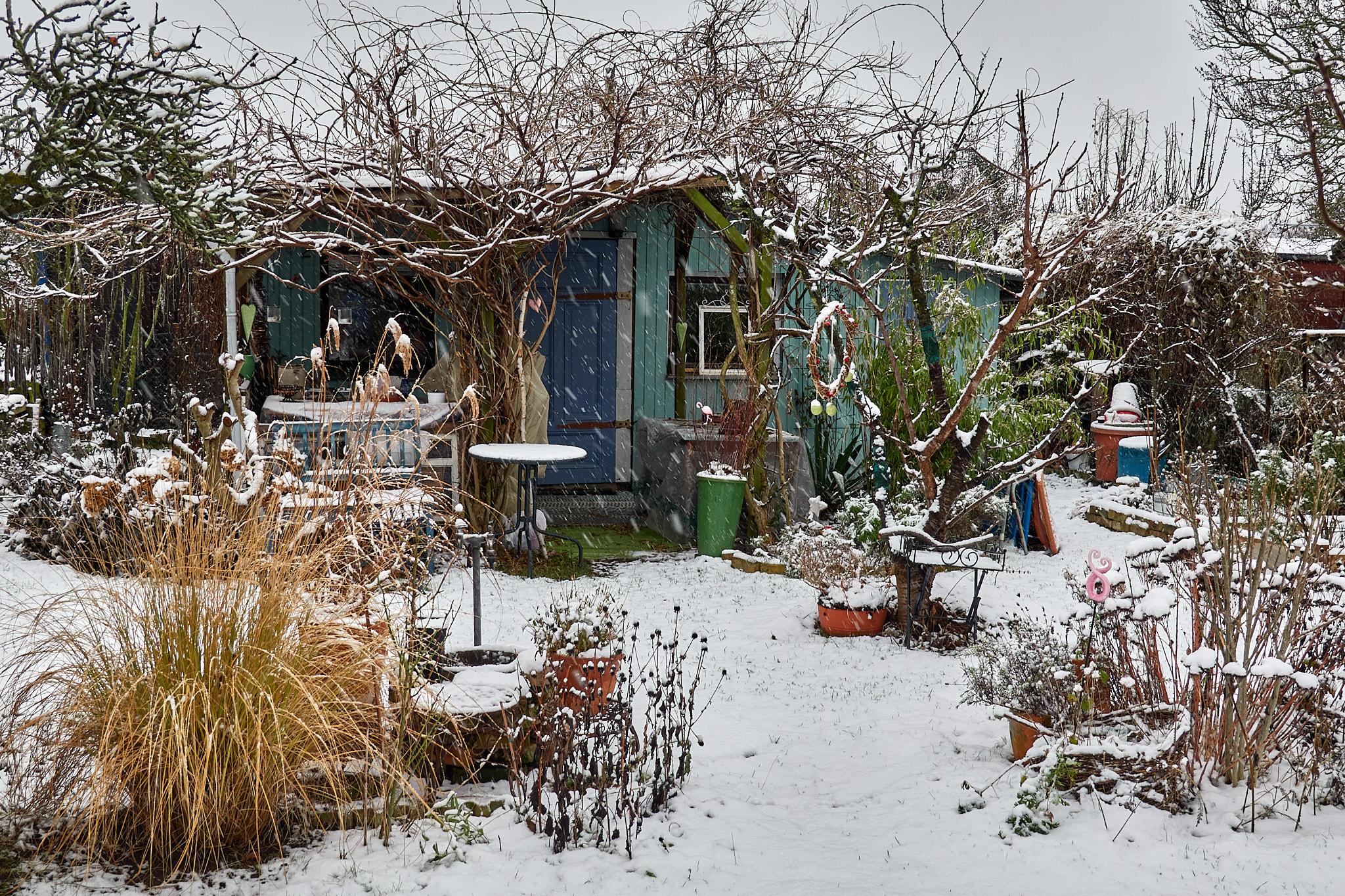 Der erste Schnee dieses Jahr