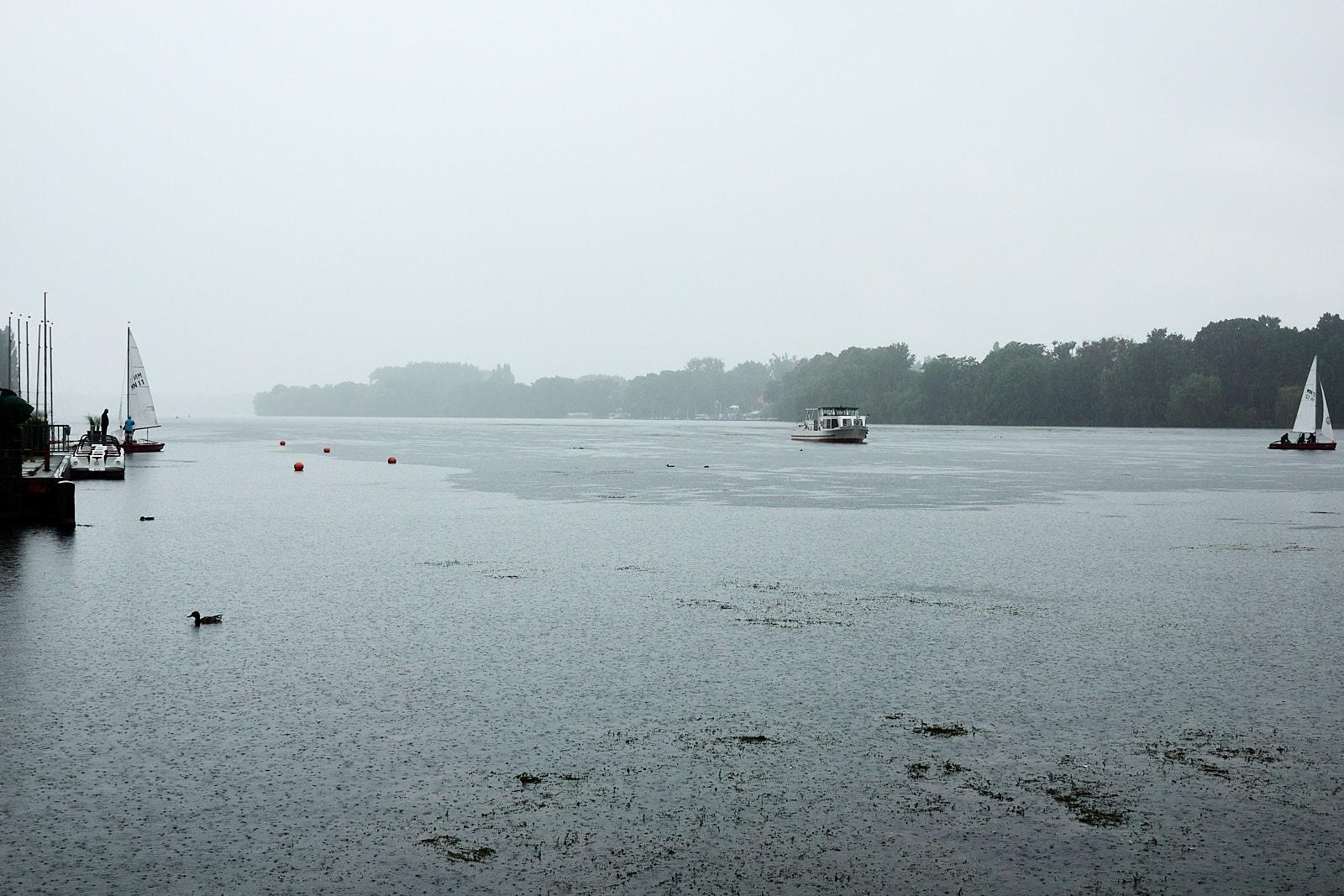 Unterwegs (1/5): Regentag