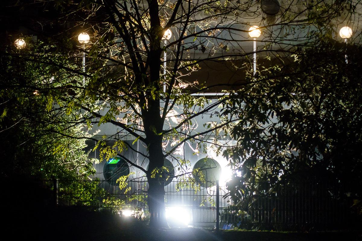 Düsseldorf, nachts